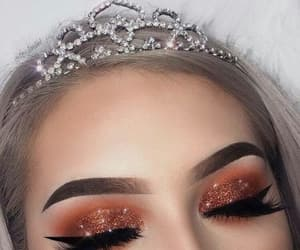 makeup, style, and crown image