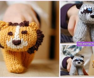 knitting and puppet image