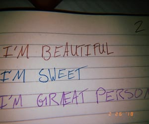 beautiful, self confidence, and stay strong image