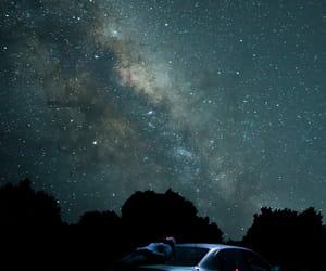 night, stargazing, and stars image