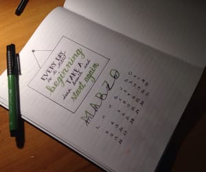 calendar, calligraphy, and drawing image