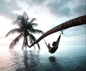 paradise, relax, and beach image