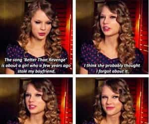Taylor Swift, better than revenge, and joe jones image