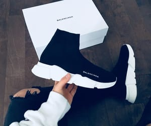 Balenciaga and black image