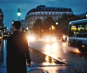 city, night, and paris image