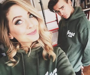 beautiful, zoella, and joe sugg image