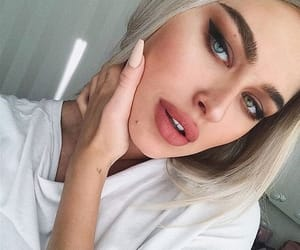 alternative, fille, and makeup image