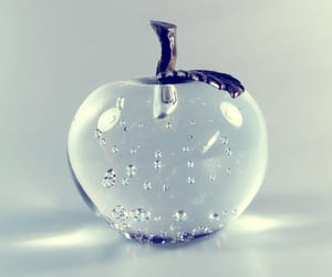 apple and glass image