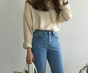 asian fashion, shirt, and vintage fashion image