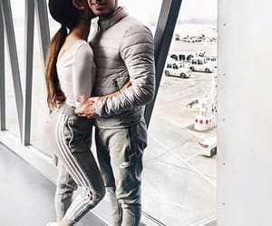 airport and couple image