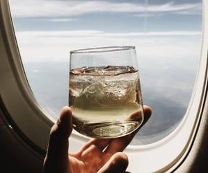 travel, sky, and champagne image
