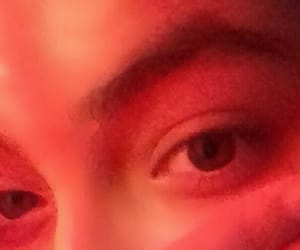 brown eyes, pictures, and red light image