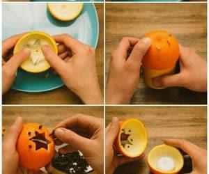 diy, candle, and orange image