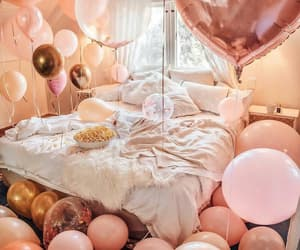 balloons, happy birthday, and happiness image