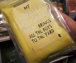 food, song, and milkshake image