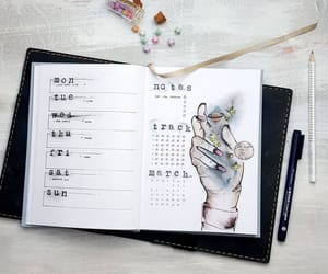 agenda, art, and habits image