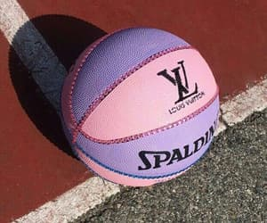 ball, Basketball, and pink image
