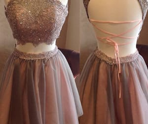 short dress, junior prom dress, and two pieces dress image