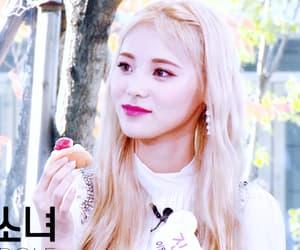 blonde, gif, and korean image