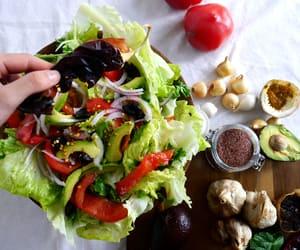 food, green, and fresh image