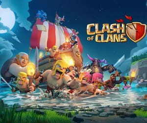 games, clash of clans, and android games image