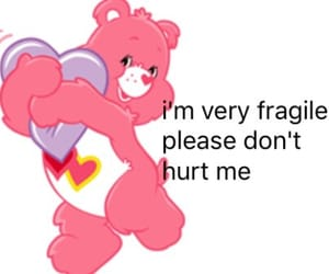 care bear, niche, and relatable image