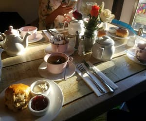 bakery, afternoontea, and london image