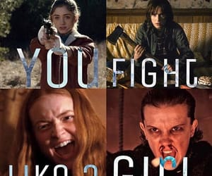 actress, famous, and stranger things image