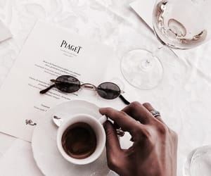 coffee, vogue, and white image
