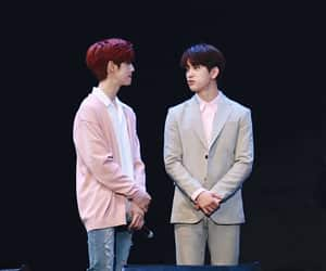 pink and blue, park jinyoung, and mark tuan image