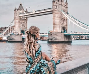 girl and london image