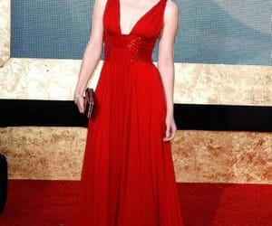 red dress, formal dress, and celebrity dress image