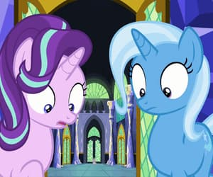 gif, MLP, and trixie image