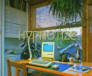 computer, palm, and hypnotize image