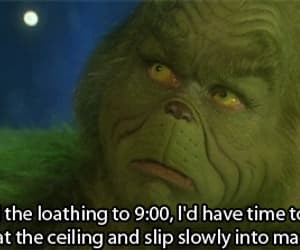funny, gif, and grinch image