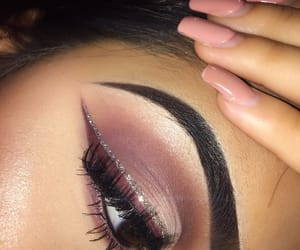 beauty, sparkle, and eye shadow image