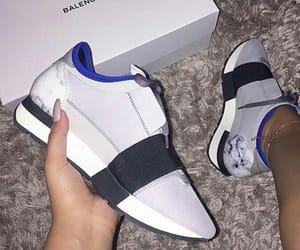 Balenciaga, trend, and white image