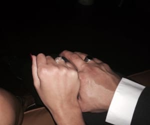 adorable, rings, and couple image