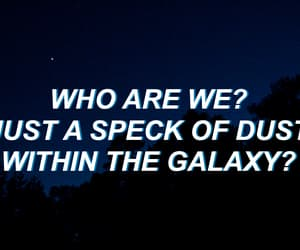 quotes, galaxy, and song image