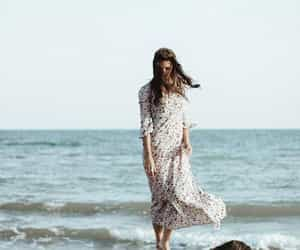 bohemian, boho, and dress image
