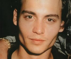 johnny depp, young, and Hot image
