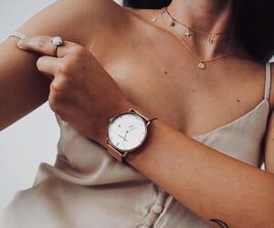 fashion, watch, and girl image