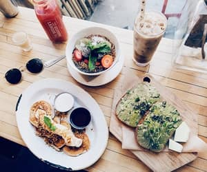 breakfast, fashion, and food image