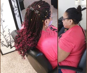 braid, hair braiding, and protective style image