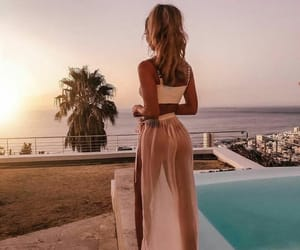 girls, travel, and goals image