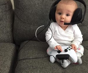baby, cute, and lové image
