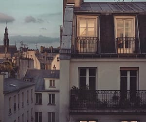 apartment, city, and paris image