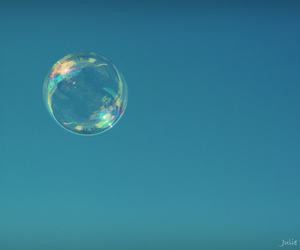 blue, bubble, and color image