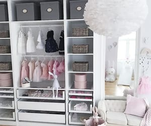 baby, closet, and house image