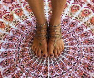 accessories, mandala, and shawl image